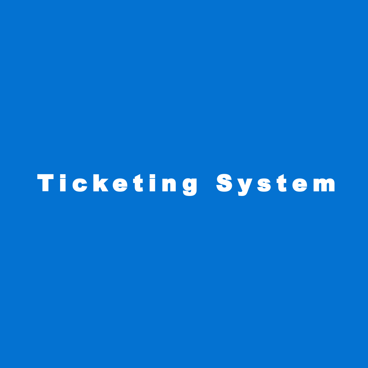 Laravel ticketing system