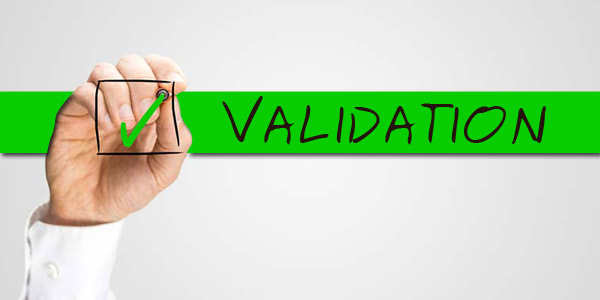 code validation