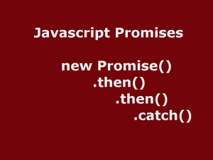 javascript promises async await