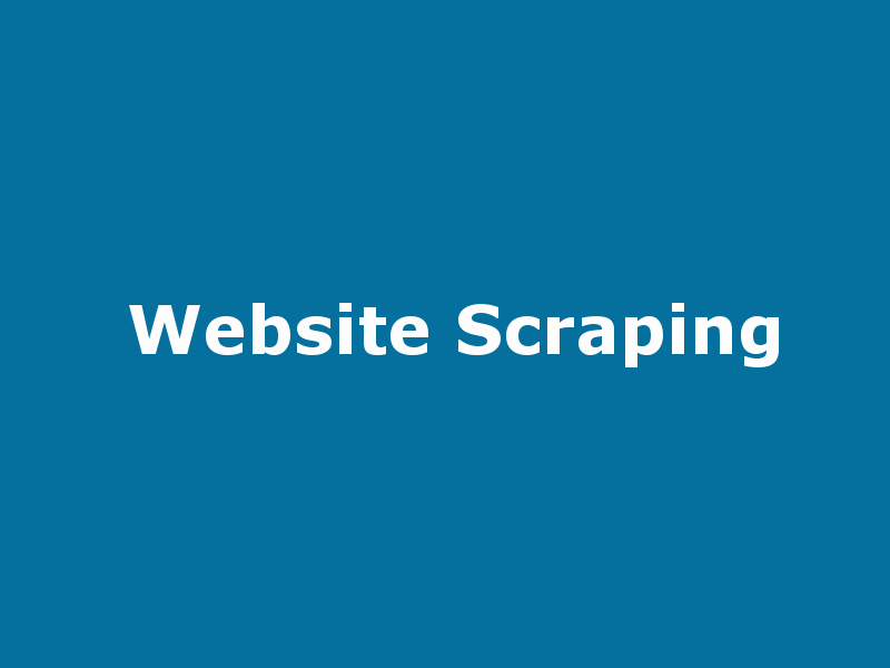 website scraping with laravel