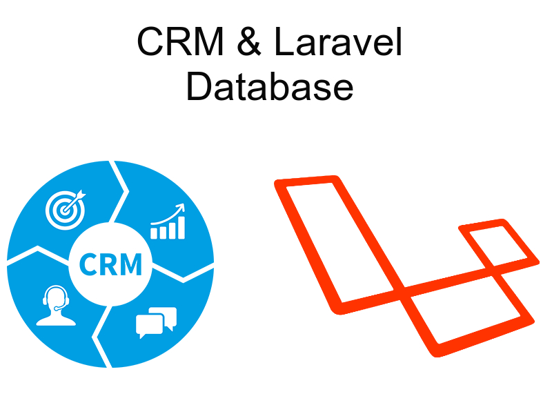 implementing crm with laravel database