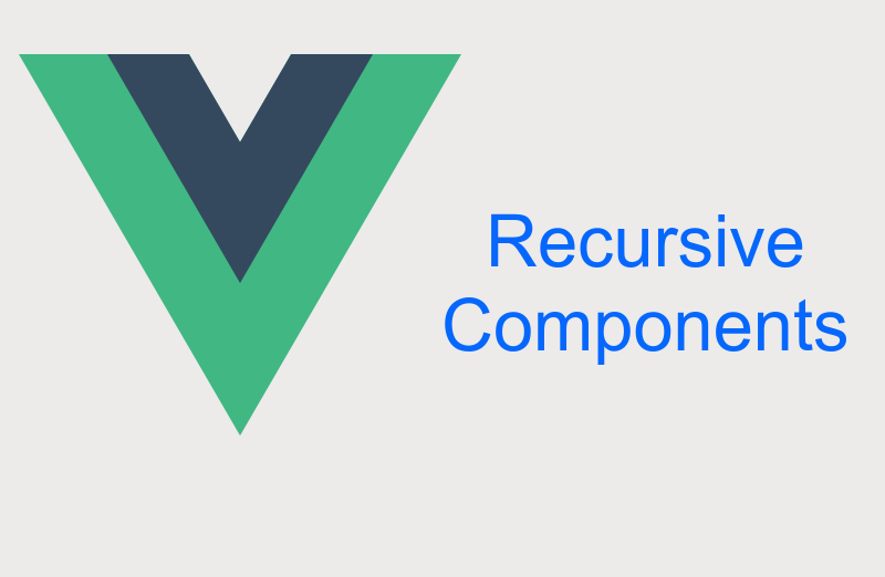 Displaying Recursive Menu With Recursive Components in Vuejs