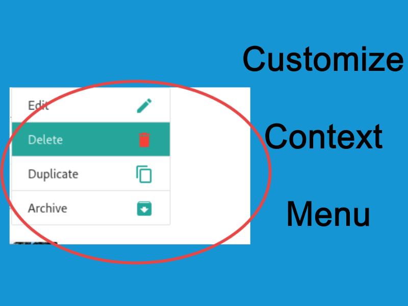 Customizing Browser Context Menu With Javascript