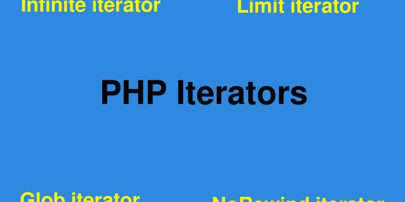 php iterators infinite limit glob rewind