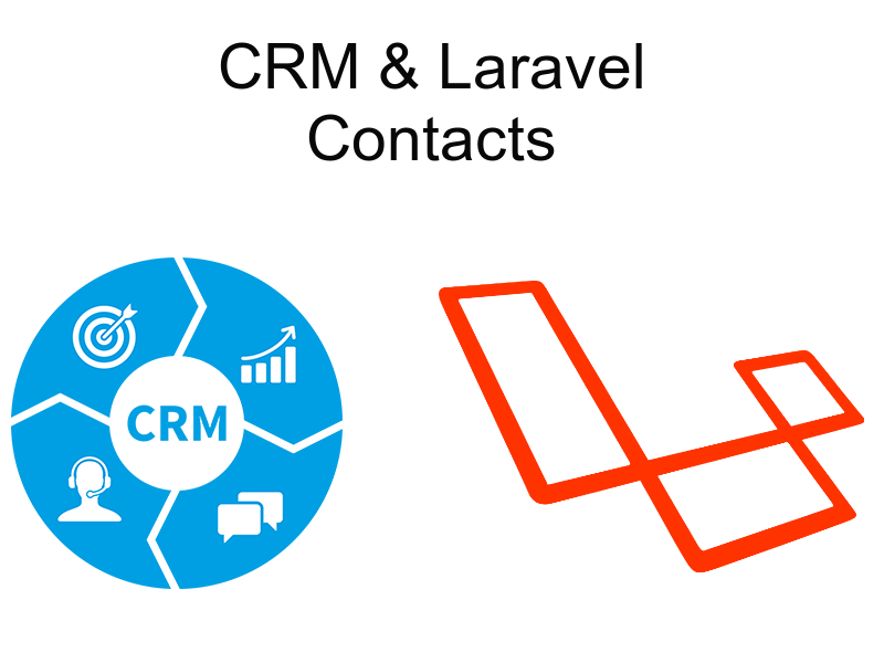 implementing crm with laravel contacts module