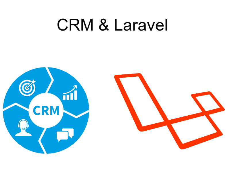 implementing crm with laravel finishing