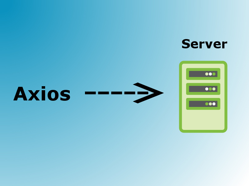 javascript making http requests using axios
