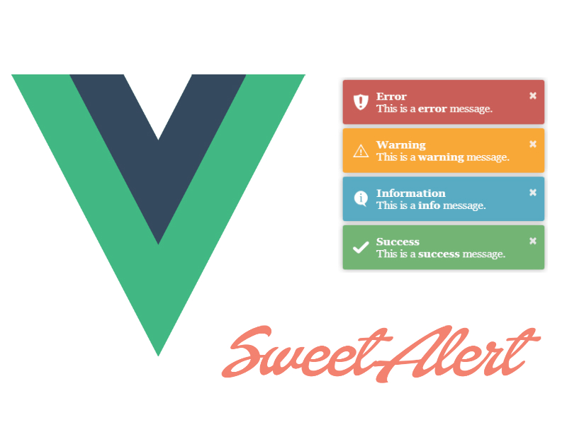 Displaying Nice Messages And Alerts in Vuejs Applications With Toastr and Swal